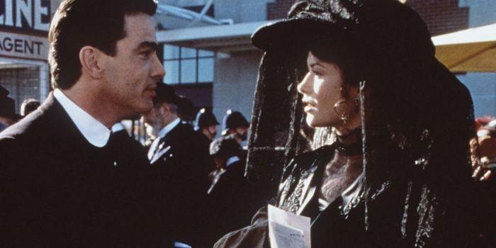 Catherine Zeta-Jones and Peter Gallagher