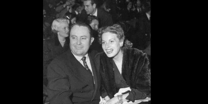 Maureen O'Hara and Will Price