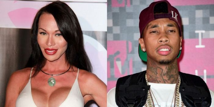 Mia Isabella and Tyga