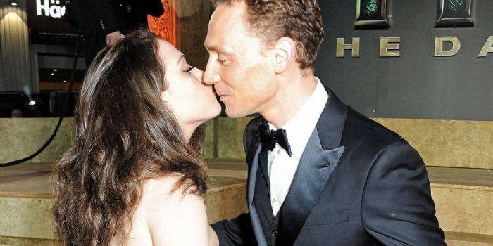 Tom Hiddleston and Kat Dennings