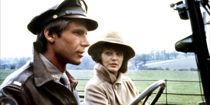 Harrison Ford and Lesley-Anne Down