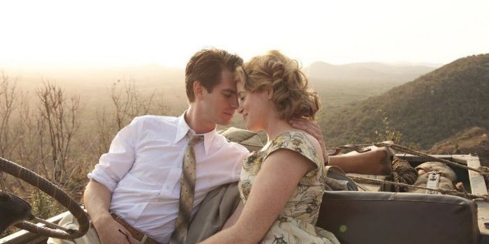Andrew Garfield and Claire Foy