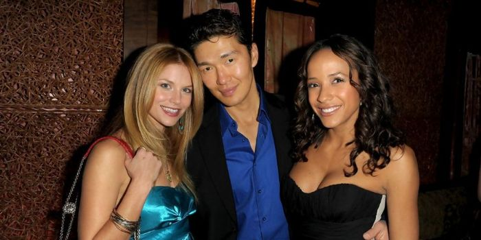 Rick Yune and Dania Ramirez