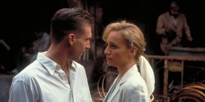 Ralph Fiennes and Kristin Thomas