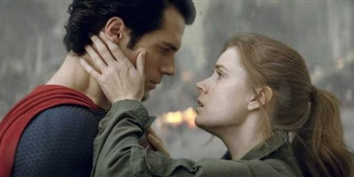 Henry Cavill and Amy Adams