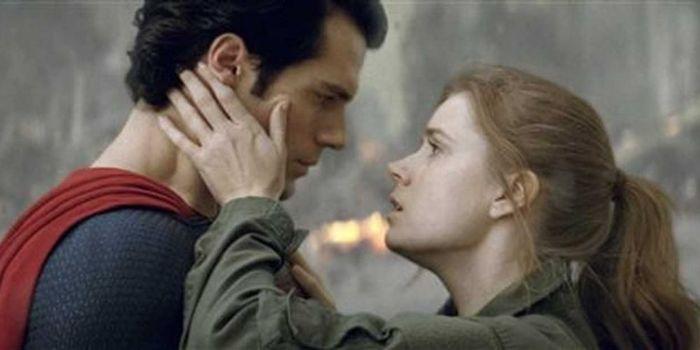 Henry Cavill and Amy Adams