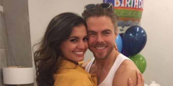 Derek Hough and Hayley Erbert