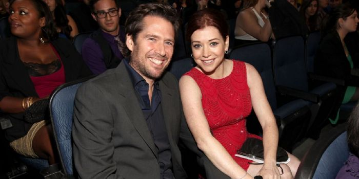 Alexis Denisof and Alyson Hannigan