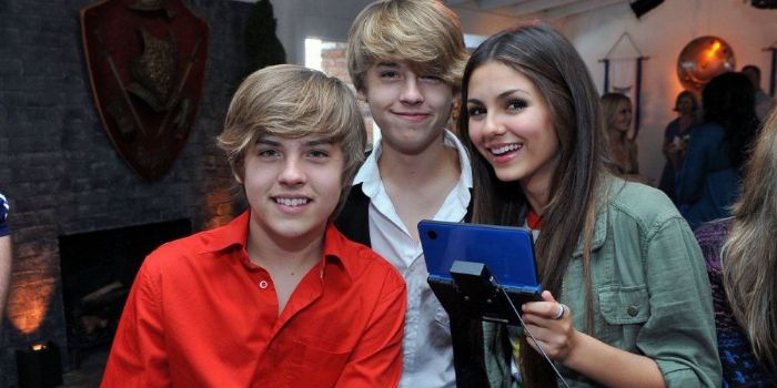 Victoria Justice and Cole Sprouse
