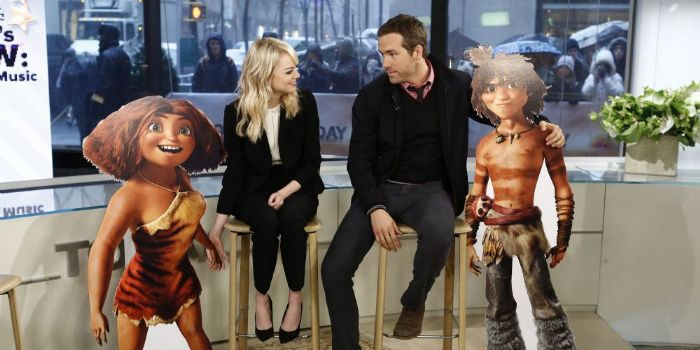 Emma Stone and Ryan Reynolds
