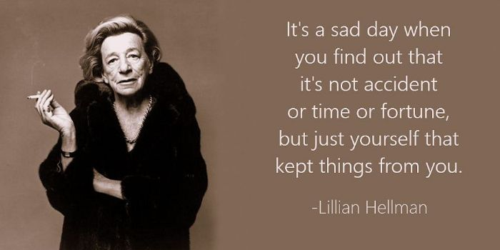 lillian hellman essay Lillian hellman was born on june 20, 1905, in new orleans, louisiana her parents, max and julia (newhouse) hellman, were both german-american jews her mother's family was wealthy and later became the models (though stripped of jewish identity) for hellman's most famous creations, the hubbards, in her two plays the little foxes and.