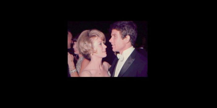 Inger Stevens and Warren Beatty