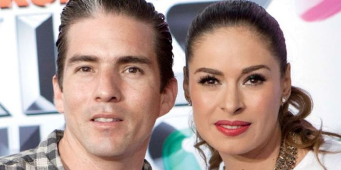 Galilea Montijo and Fernando Reina