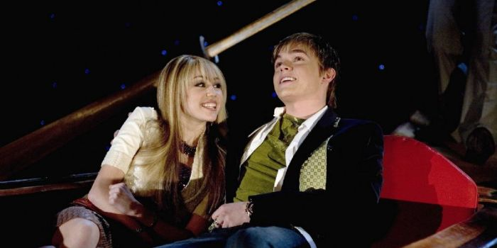 Jesse McCartney and Miley Cyrus