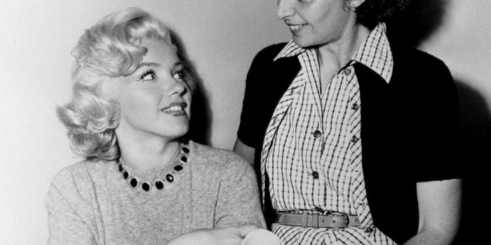 Natasha Lytess and Marilyn Monroe