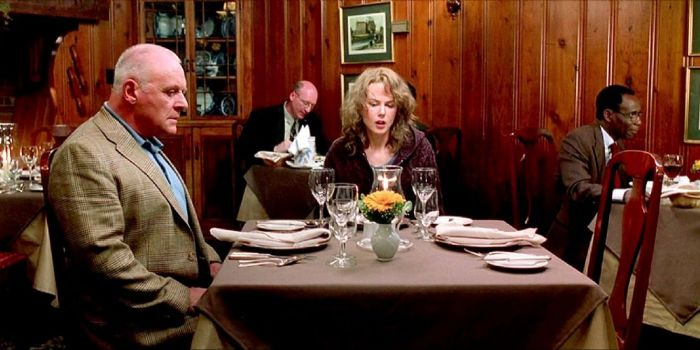 Nicole Kidman and Anthony Hopkins