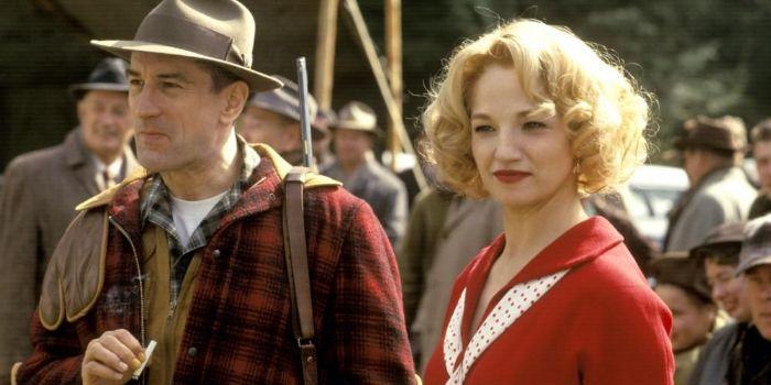Ellen Barkin and Robert De Niro