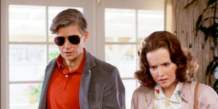Crispin Glover and Lea Thompson