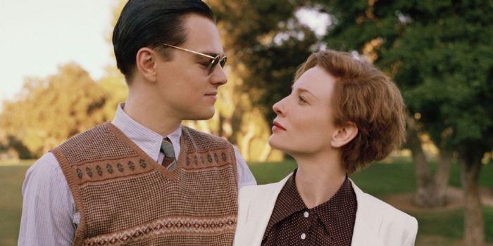 Leonardo DiCaprio and Cate Blanchett