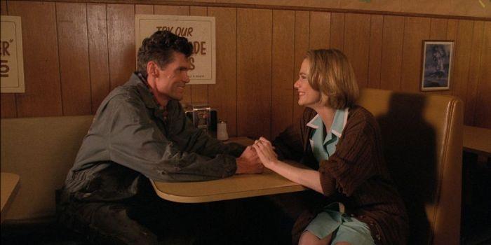 Everett McGill and Peggy Lipton