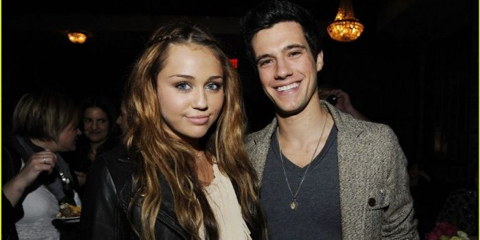Drew Roy and Miley Cyrus