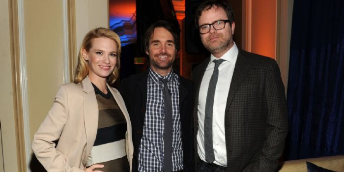 January Jones and Will Forte