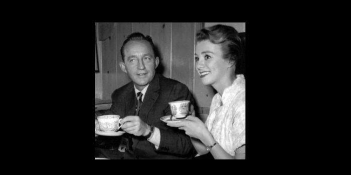 Inger Stevens and Bing Crosby