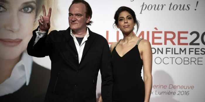 Quentin Tarantino and Daniela Pick