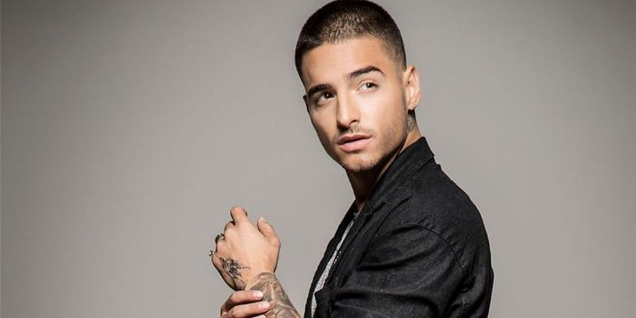 Maluma has his love for Natalia Barulich inked on his skin. Just in time  for Valentine's Day, the Colombian singer and his girlfriend got matching  tattoos.
