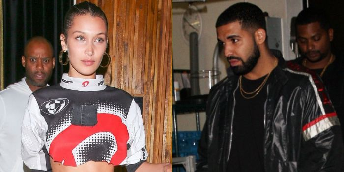 Bella Hadid and Drake