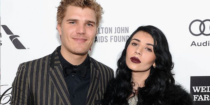 Hanna Merjos and Chris Zylka