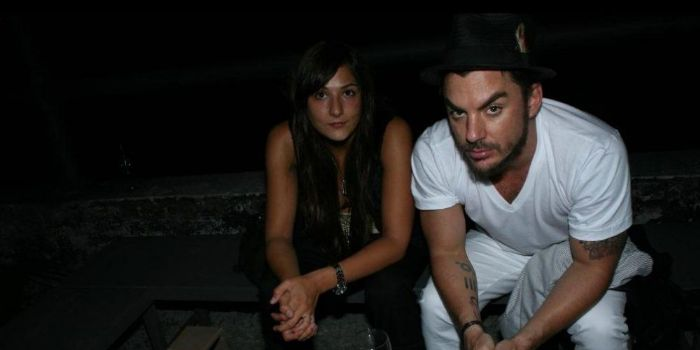 Shannon Leto and Monica Collins