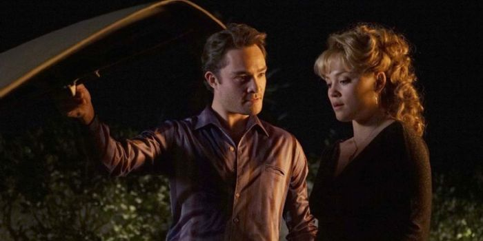 Ed Westwick and Erika Christensen
