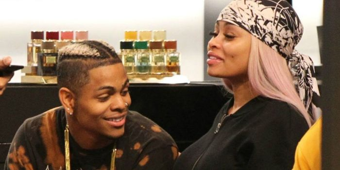 Blac Chyna and Demetrius Harris