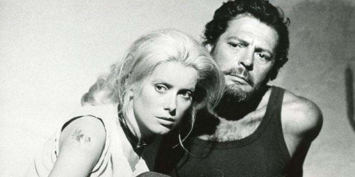 Catherine Deneuve and Marcello Mastroianni
