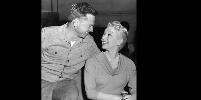 Lana Turner and Mickey Rooney