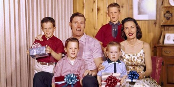 Chuck Connors and Elizabeth Riddell (spouse)