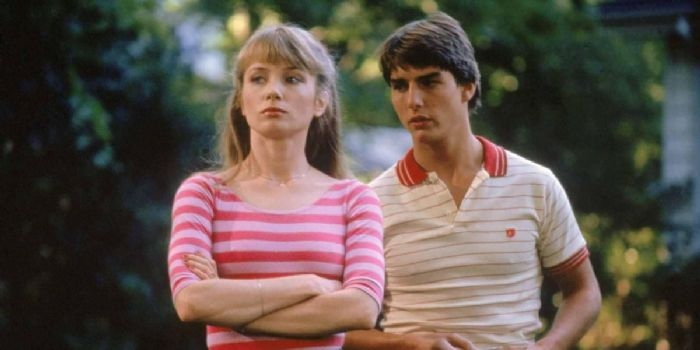 Rebecca De Mornay and Tom Cruise
