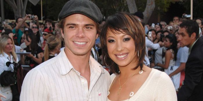 Cheryl Burke and Matthew Lawrence