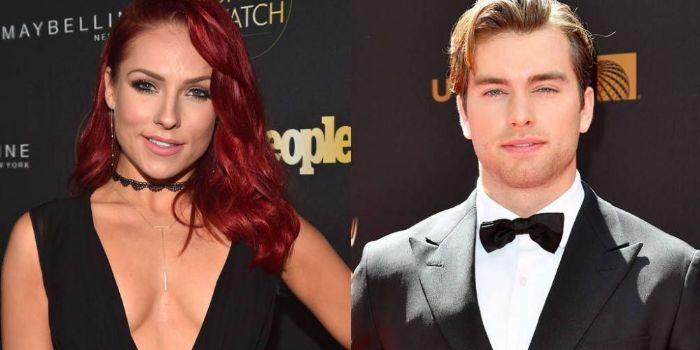 Sharna Burgess and Pierson Fode