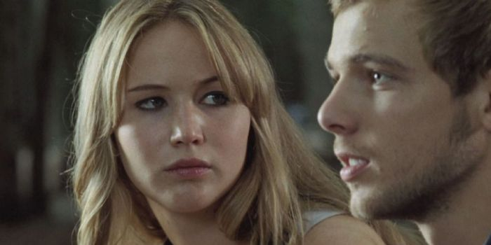 Jennifer Lawrence and Max Thieriot