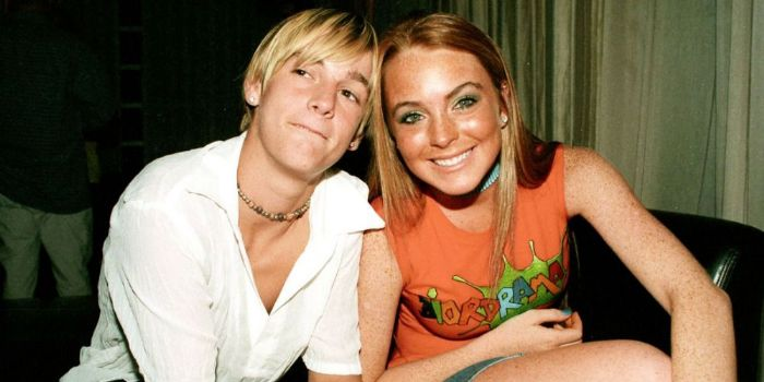 Aaron Carter and Lindsay Lohan