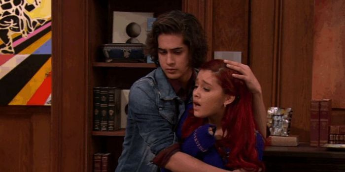 Avan Jogia and Ariana Grande