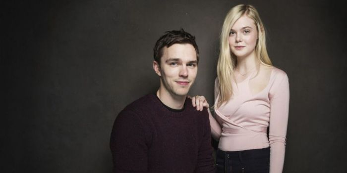Elle Fanning and Nicholas Hoult