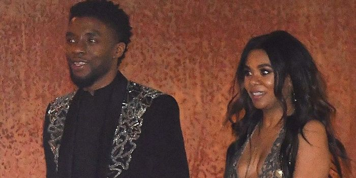 Chadwick Boseman and Regina Hall