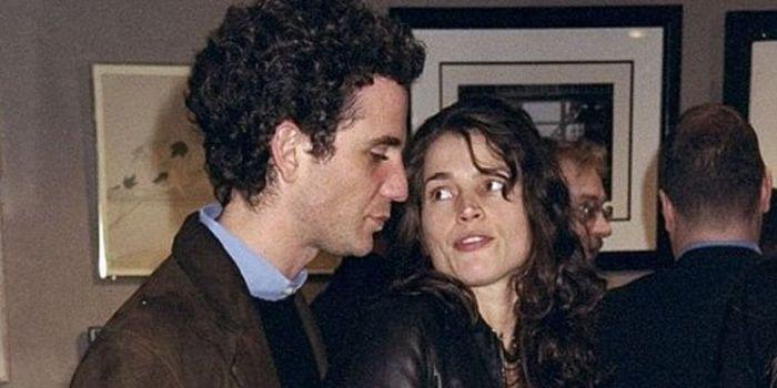 Julia Ormond and Jon Rubin