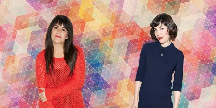 Abbi Jacobson and Carrie Brownstein