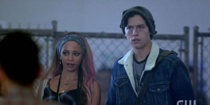 Cole Sprouse and Vanessa Morgan