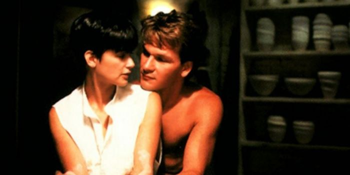 Demi Moore and Patrick Swayze