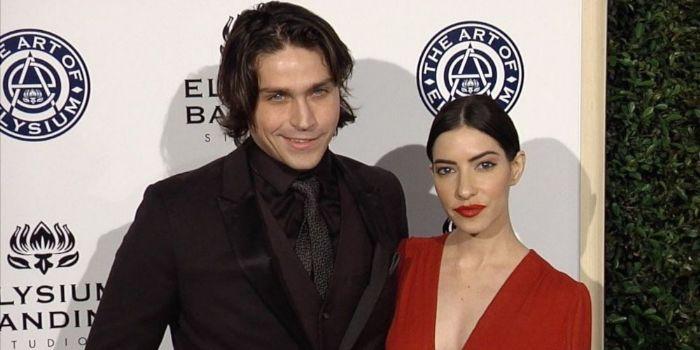 Lisa Origliasso and Logan Huffman